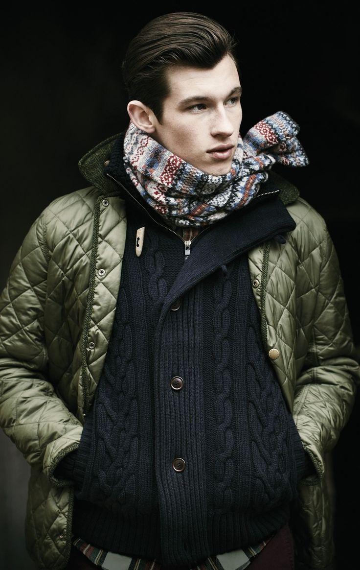 Органичнее всего стеганые куртки сочетаются со стилем casual