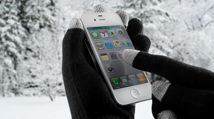 Перчатки для сенсорных экранов - полезный зимний подарок