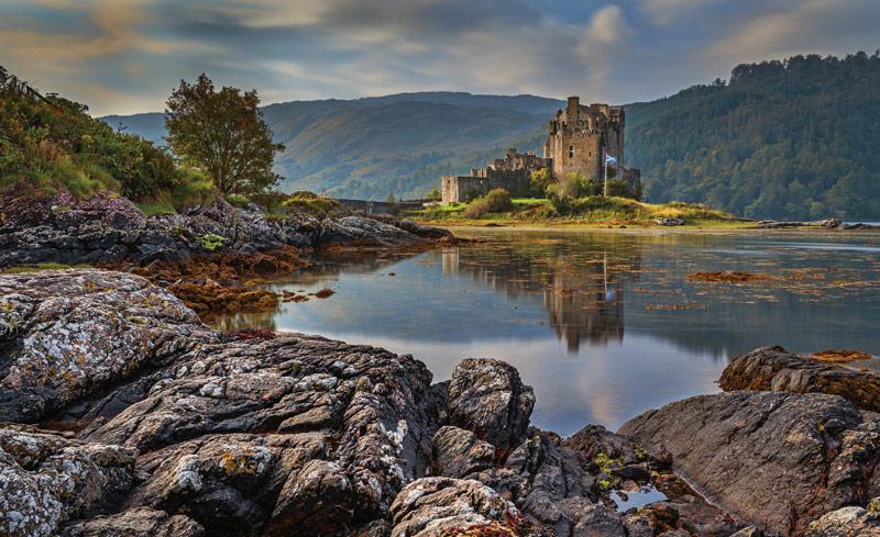 Шотландский пейзаж: примерно такие оттенки можно чаще встретить в расцветке твидовых костюмов
