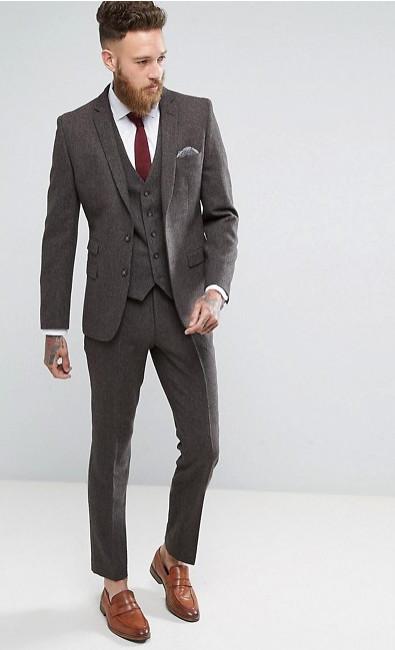 Твидовый костюм Moss London